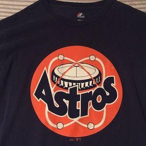 VTG Houston Astros Majestic T shirt Size M